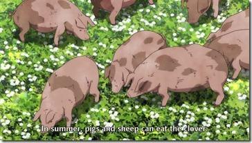 Maoyuu Maou Yuusha  Pigs in Clover