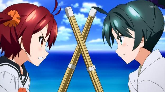 Vividred Wakaba vs Akane