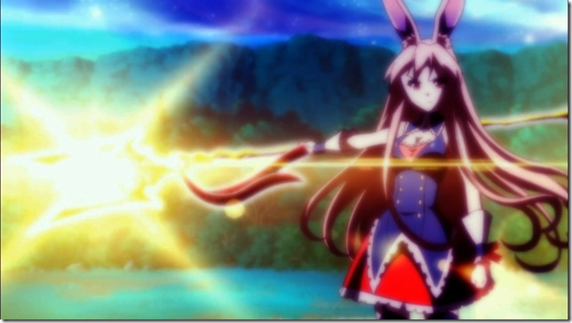 Mondaiji Ep04 - Kurousagi summons the Spear of Indra