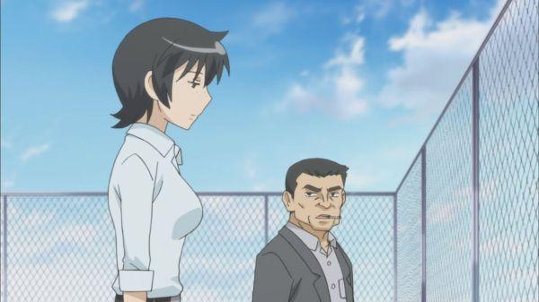Kotoura-san Episode 10 - detectives