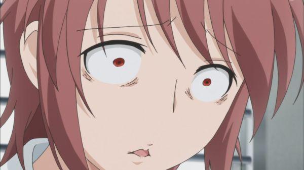 Kotoura-san Episode 10 - Moritani in shock