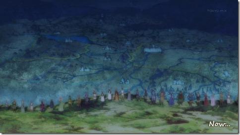Maoyuu Maou Yuusha Everyone on a Hill
