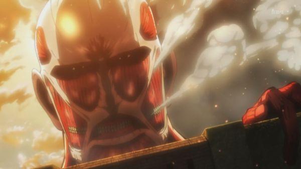 Shingeki no Kyojin 01 - Colossal Titan