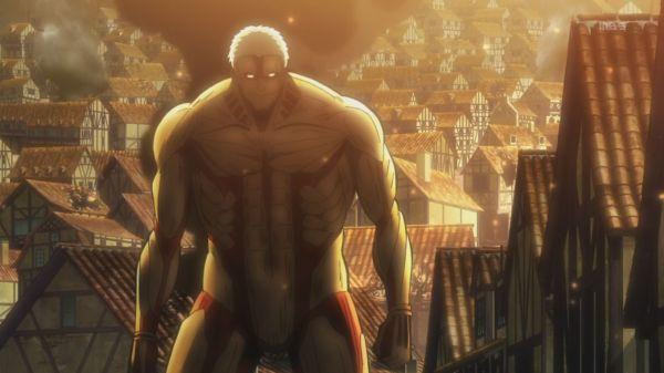 Shingeki no Kyojin 02 - Armoured titan