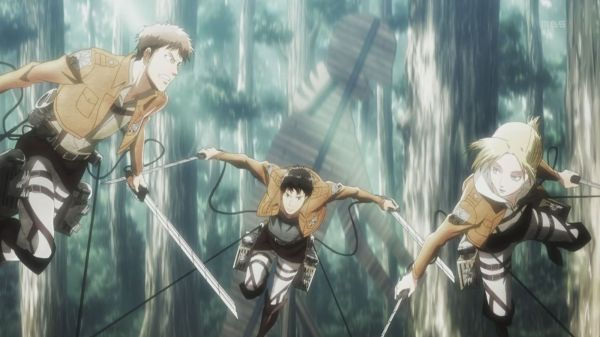 Shingeki no Kyojin 4 Annie Marco Jean