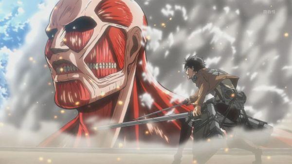 Shingeki no Kyojin 4 Eren Colossus