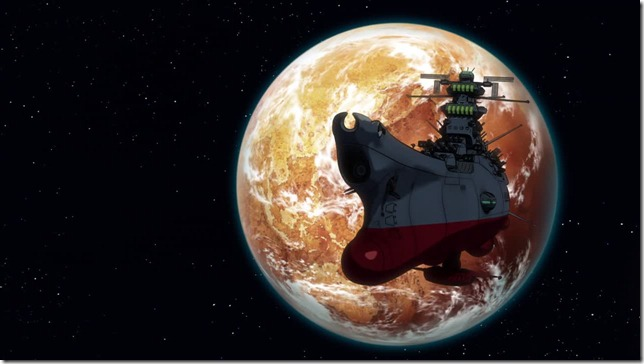 Space Battleship Yamato 2199 episode 3 Yamato In Front of Earth