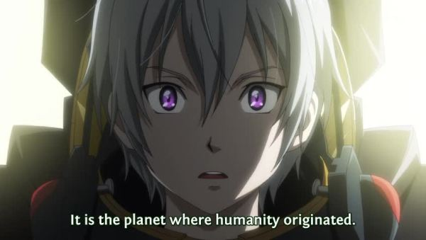 Suisei no Gargantia 01 On Earth
