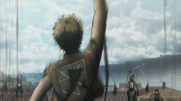 Shingeki no Kyojin Ep 7 - Last stand