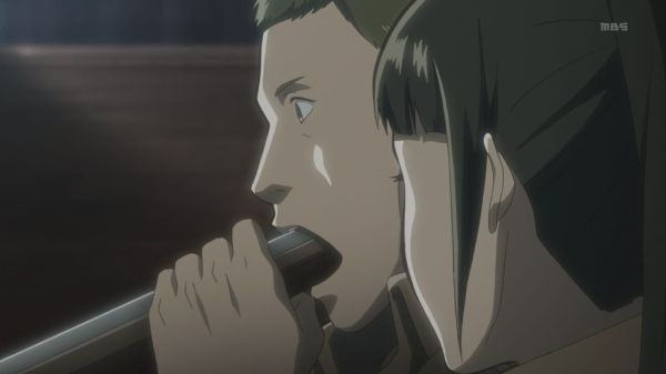 Shingeki no Kyojin Ep 7 - shotgun mouth