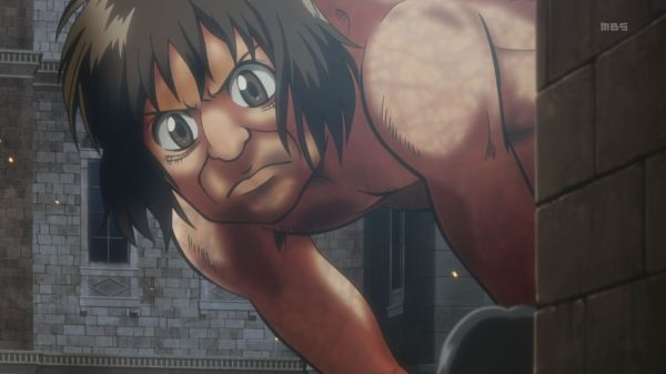 Shingeki no Kyojin Episode 5 Cute Titan