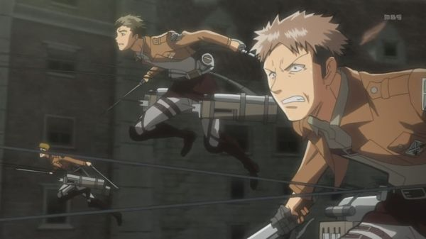Shingeki no Kyojin Episode 8 - Jean leading