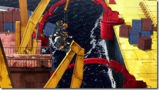 Suisei no Gargantia 04 Chamber Move Cargo