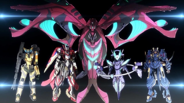 ginga kikoutai majestic prince reenergizing mecha anime