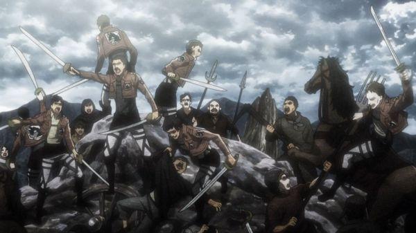 Shingeki no Kyojin Ep 11 -Humanity in chaos