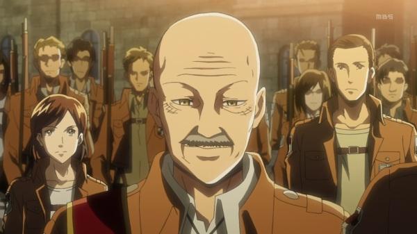Shingeki no Kyojin Episode 10 Pixis