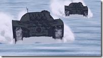 Space Battleship Yamato 2199 episode 4 Space Tanks