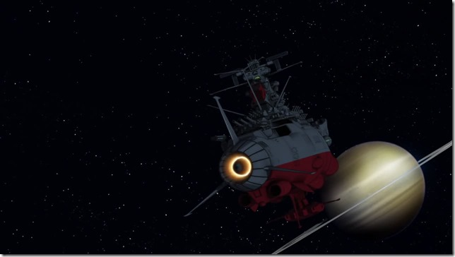 Space Battleship Yamato 2199 episode 4  Yamato and Saturn