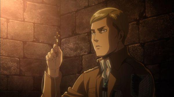 Shingeki no Kyojin Episode 13 Erwin Key