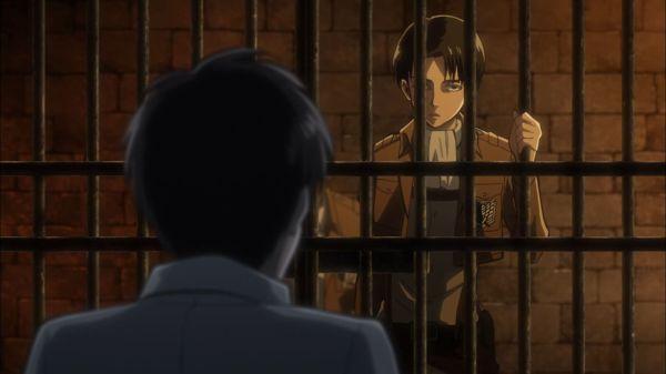Shingeki no Kyojin Episode 13 Levi