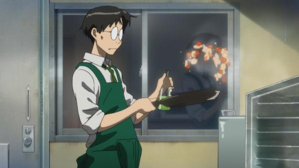 Cooking, enjoying anime, holding a steady job; is there anything he cannot do?