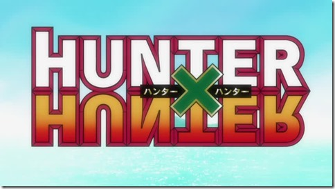 Hunter X Hunter Title Screen